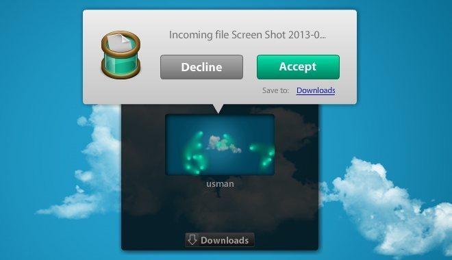 Filedrop accept