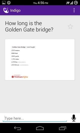 Indigo Android Query