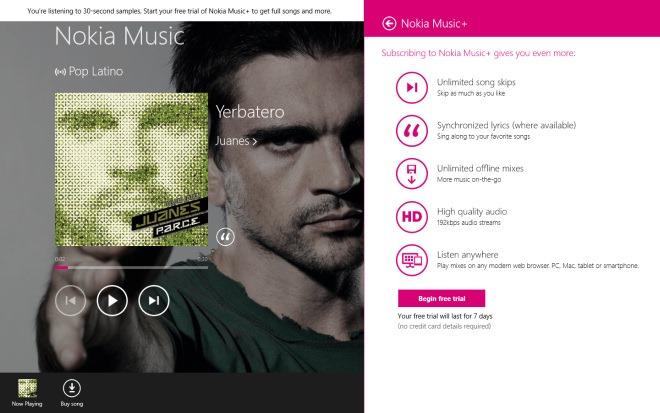 Nokia Music_Trial