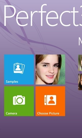 Perfect365 WP8 Home