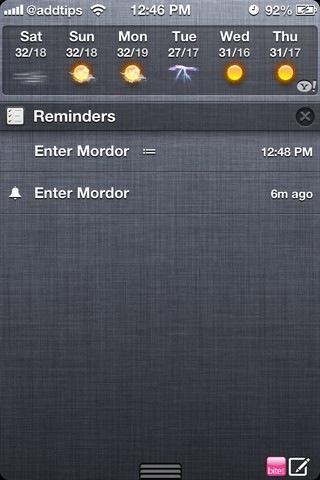 RemindMeAgain iOS NC
