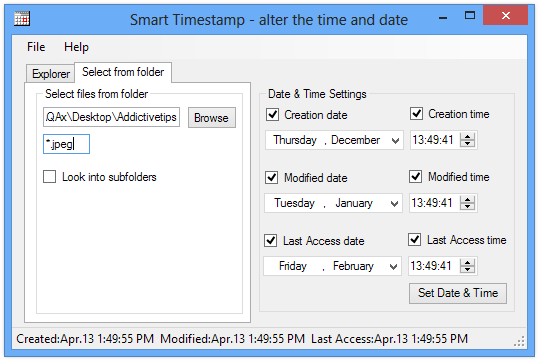 Smart Timestamp