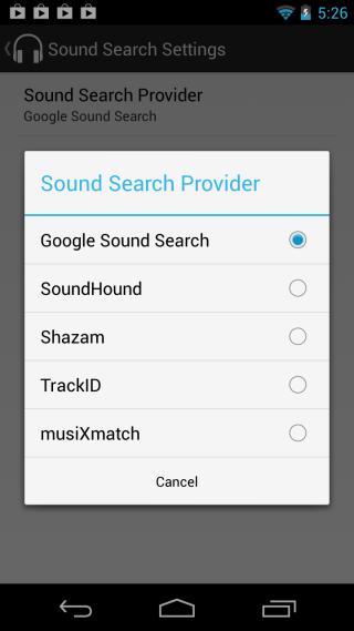 Sound Search for DashClock