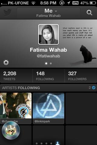 Twitter #music me