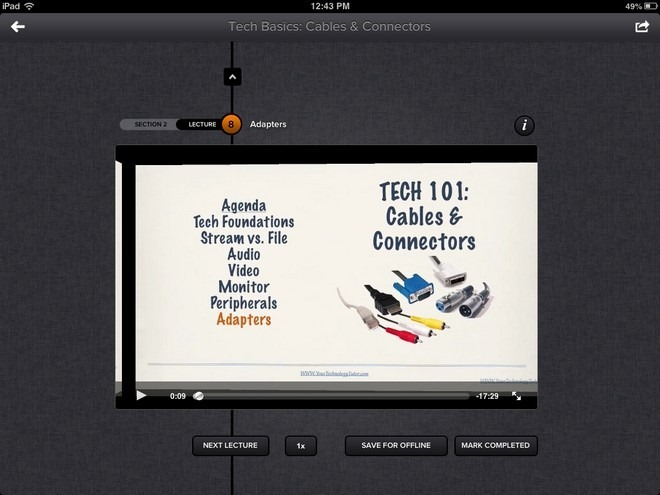 Udemy iOS Video