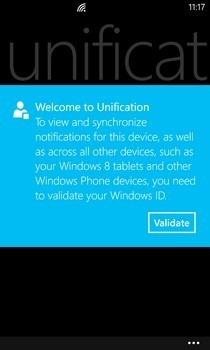 Unification WP8 Validation