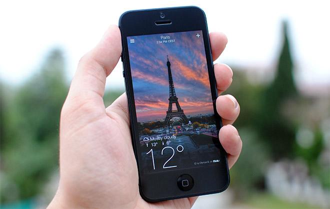 Yahoo!-Weather-iPhone