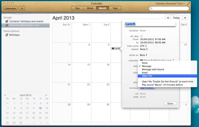 calendar event file
