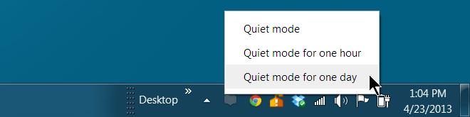 quite mode