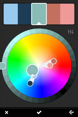 Adobe Kuler color wheel