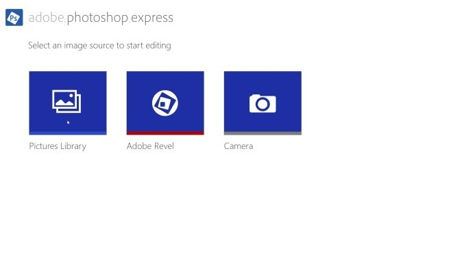 Adobe Photoshop Express - Home Page