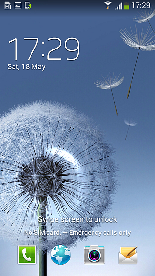 Android 4.2.2 ROM for Galaxy S III - Lock Screen