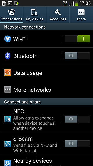 Android 4.2.2 ROM for Galaxy S III - Settings