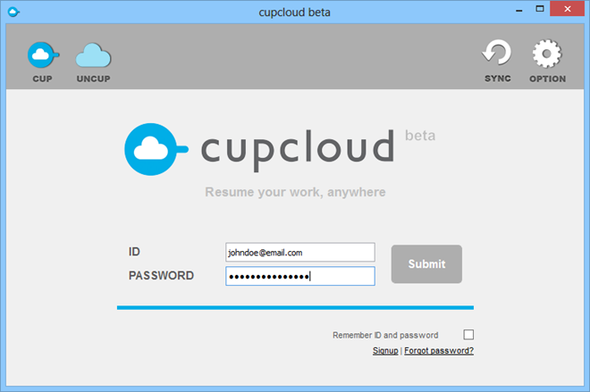 Cupcloud Sign In