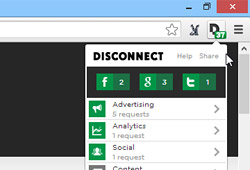Disconnect-Chrome-Firefox-anti-tracking-extension
