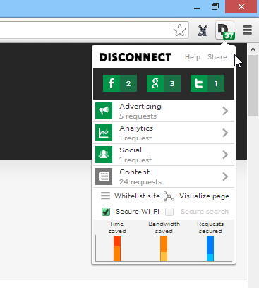 Disconnect Chrome
