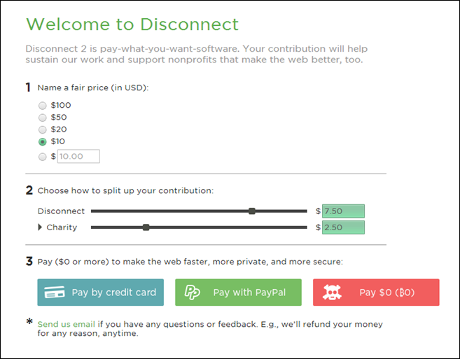 Disconnect Pay