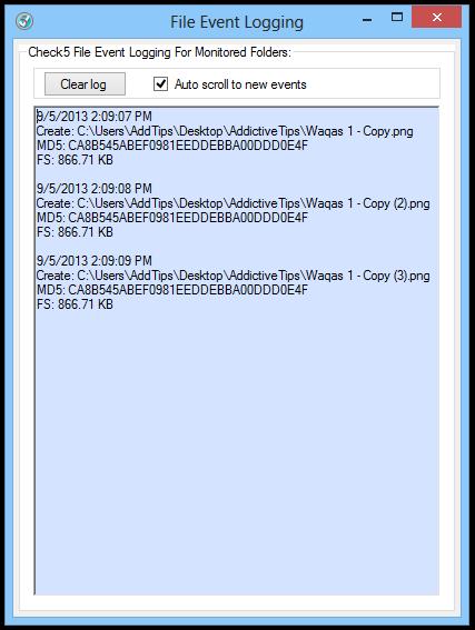 File Event Logging