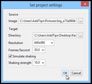 KenSentMe_Set project settings