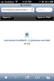 LockBar Settings iOS Open