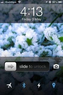 LockBar Settings iOS