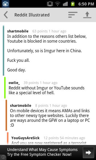 Reddit Illustrated comments