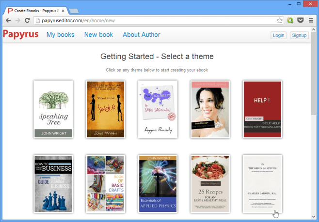 Selecting a theme for your book