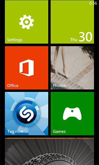 Shazam Windows Phone Tag Now Tile
