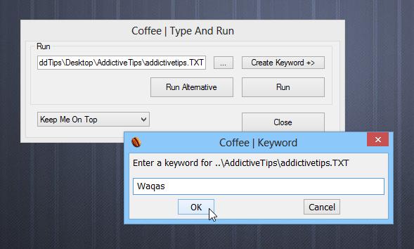 Type And Run