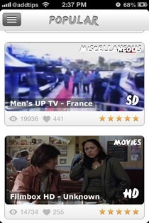 Universal TV Cydia Popular