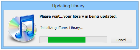Updating Library...