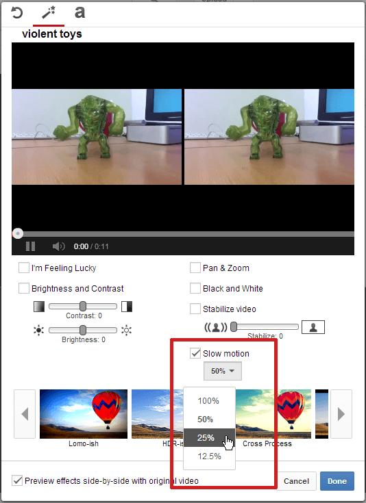 Video Editor - YouTube