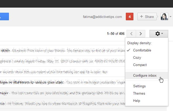 configure inbox