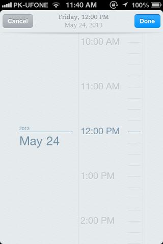 reminder date