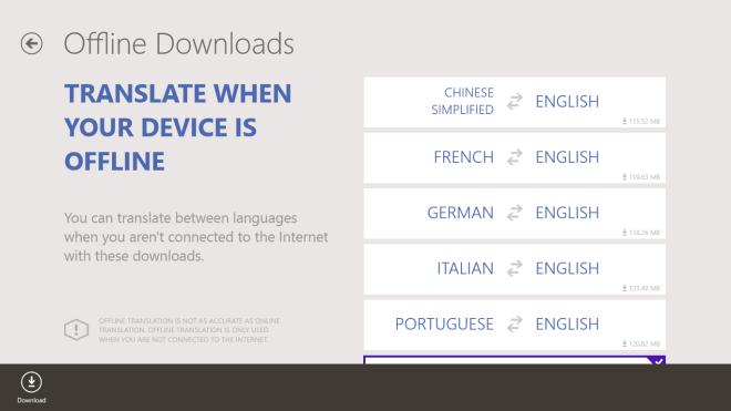 Bing Translator_Offline