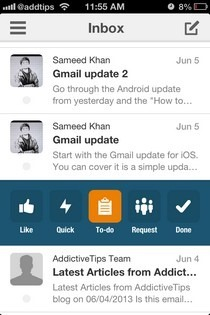 Boxer iOS Inbox
