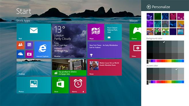 Desktop-background-as-Start-Screen
