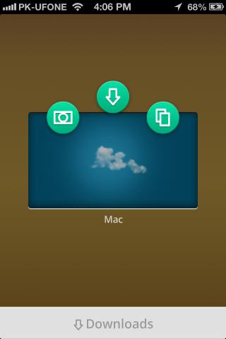Filedrop select system