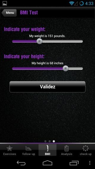 Fitness Checkup BMI