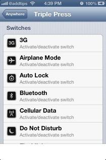 FlipSwitch iOS Switch