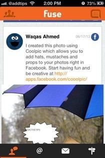 Fuse Social iOS Feed
