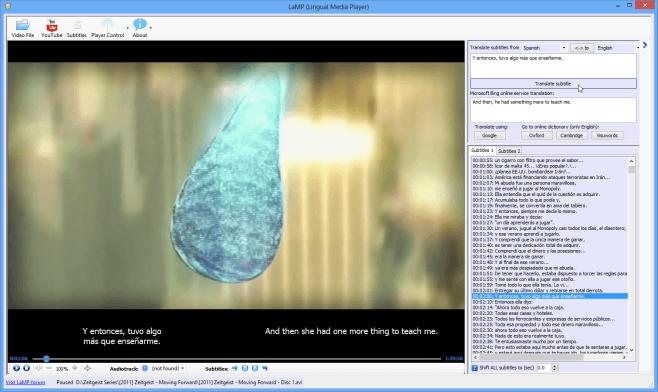 LaMP user interface