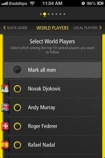 Live Score Tennis iOS WTA