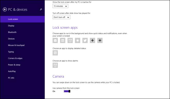 Lockscreen - PC Settings 3