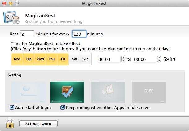 MagicanRest pref