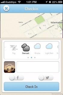Minutely iOS CheckIn