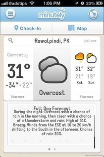 Minutely iOS Forecast