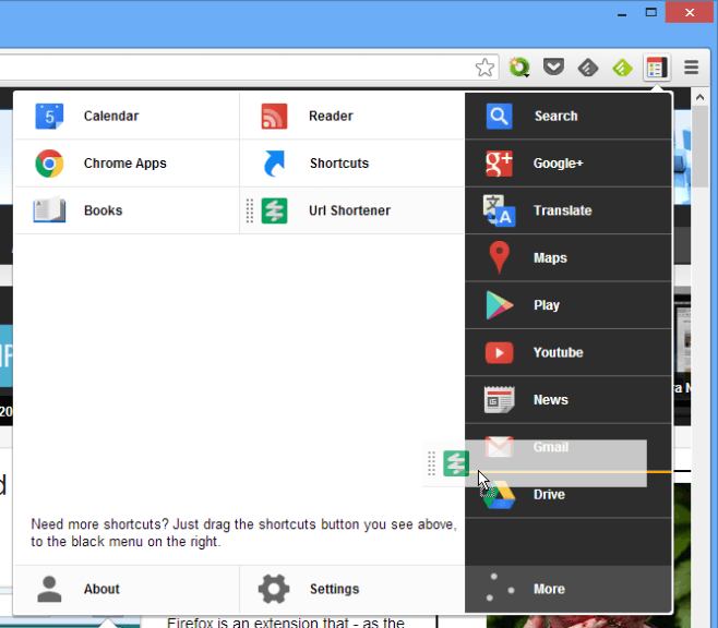 More tabs to add