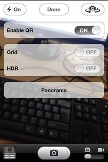 NativeQR iOS Option