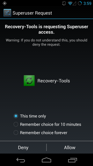 Recovery Tools_Permission